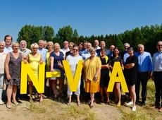 Groepsfoto kandidaten N-VA Haacht